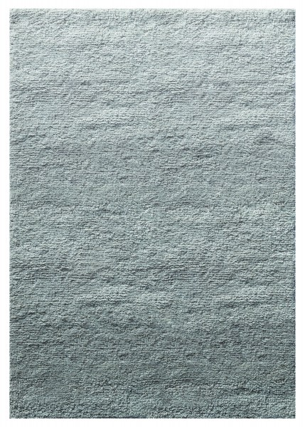 Teppich Grau Hochflor aus Wolle » Sweven « WECONhome