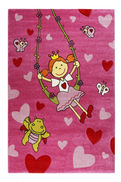 Sigikid Kinderteppich » Pinky Queeny « pink rosa