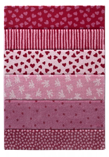 Sigikid Kinder Teppich » Canon « pink rosa rot